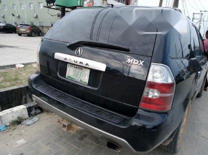 Nigeria Used Acura MDX 2004 Model Black