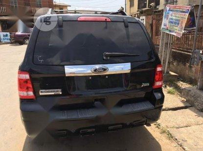 Nigeria Used Ford Escape 2012 Model  Black