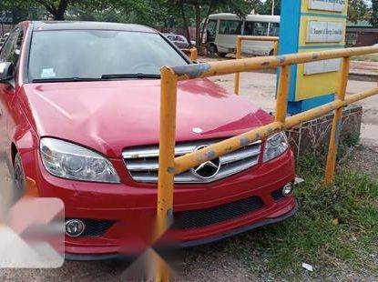Foreign Used Mercedes-Benz C300 2008 Model Red