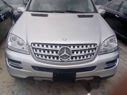 Neat Foreign used Mercedes-Benz M Class 2008 Silver