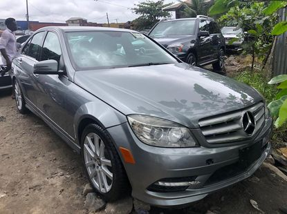Mercedes Benz C300 Foreign Used 2009 Model Grey