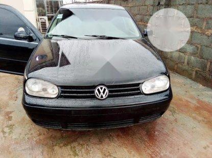 Neat Nigerian used Volkswagen Golf 2005 4 1.6 Black