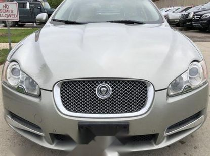 Foreign Used Jaguar XF 2010 Model Silver