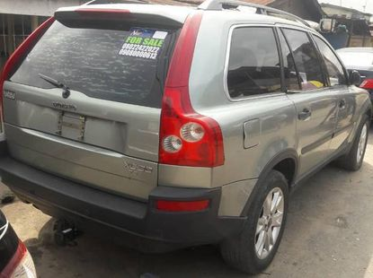 Foreign Used Volvo XC90 T6 AWD 2004 Green
