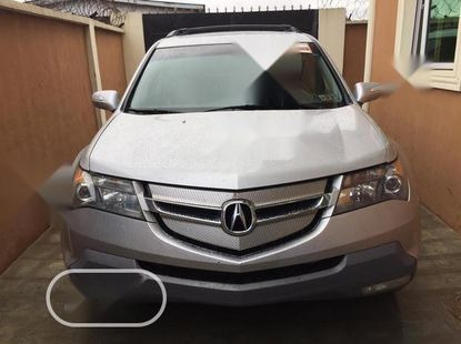 Foreign Used Acura MDX 2009 SUV 4dr AWD (3.7 6cyl 5A) Silver