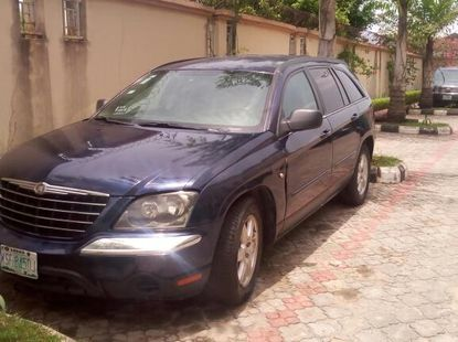 2001 Chrysler Pacifica Nigerian Used Black Jeep