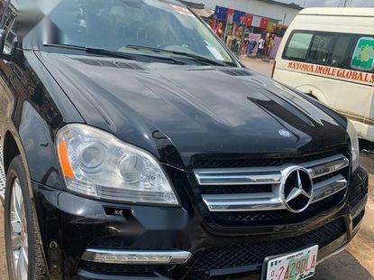 Very Clean Foreign used Mercedes-Benz GL Class 2011 GL 450 Black