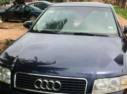 Foreign Used Audi A4 2002 Model 1.8 T Blue