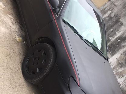 Foreign Used Acura CL 1999 Model Black