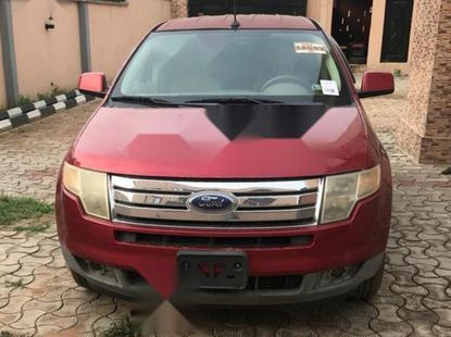 Very Clean Foreign used Ford Edge 2008 Red