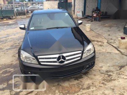 Nigerian Used Mercedes-Benz C300 2008 Black