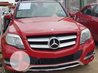 Tokunbo Mercedes-Benz GLK-Class 350 4MATIC 2014 Model Red