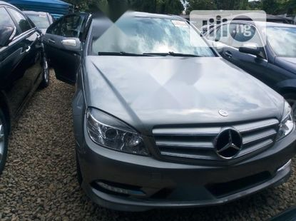 Very Clean Foreign used Mercedes-Benz C300 2009 Gray