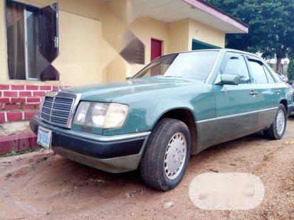Nigeria Used Mercedes-Benz 230E 1990 Green