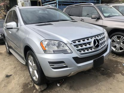 Mercedes Benz ML350 2010 Model Foreign Used Silver