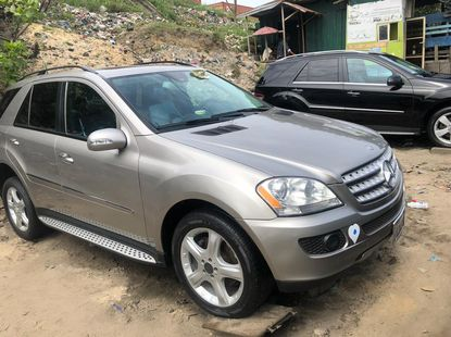Mercedes Benz GLK350 4MATIC Foreign Used 2008 Model Grey