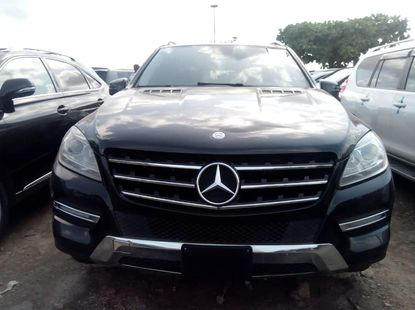 Mercedes Benz ML350 Foriegn Used 2012 Model Black
