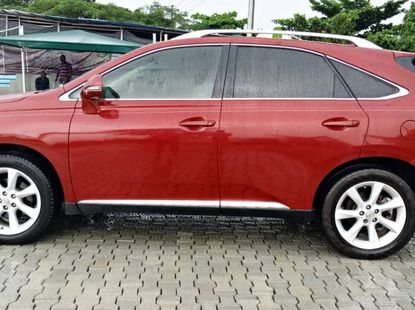 Used Lexus RX 350 2010 Nigerian Used Red Colour