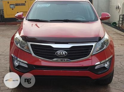 Foreign Used Kia Sportage 2013 Red