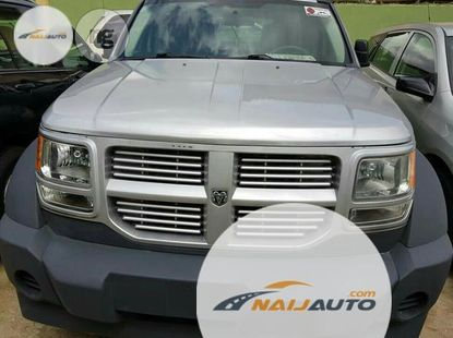 Foreign Used Dodge Nitro 2007 Silver