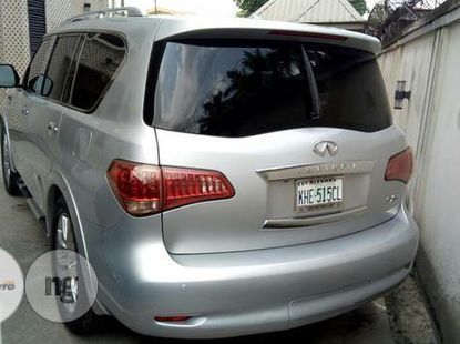 Nigeria Used Infinity QX56 2010 Model Silver