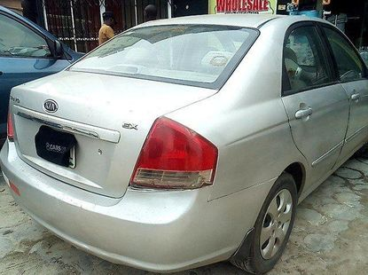 Nigeria Used Kia Cerato 2008 Model Grey