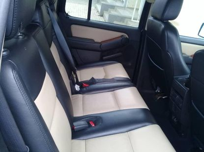 Foreign Used Ford Explorer 2008 Petrol Automatic Blue