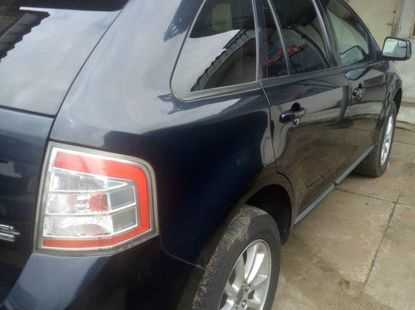 Foreign Used Ford Edge 2009 Model Black