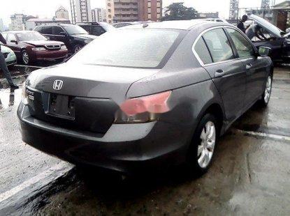 Nigeria Used Honda Accord 2009 Model Grey