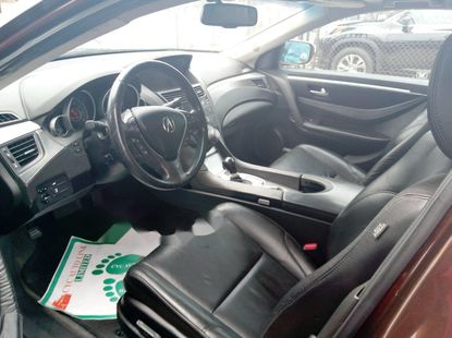 Foreign Used Acura ZDX 2010 Model Brown