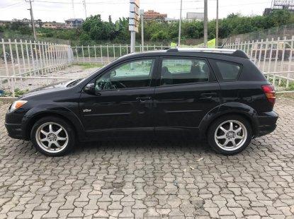 Foreign Used Pontiac Vibe 2005 Model Black