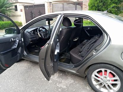 Nigeria Used Cerato 2012 Model Grey