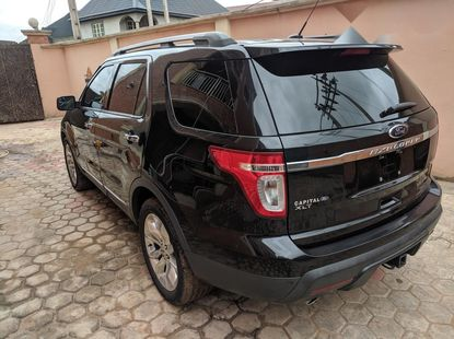 Tokunbo Ford Explorer 2013 Model Black