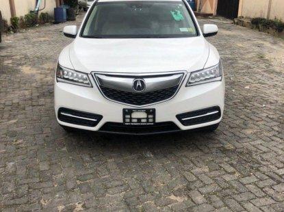 Tokunbo Acura MDX 2014 Model White