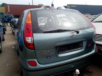 Foreign Used Nissan Almera Tino 2005
