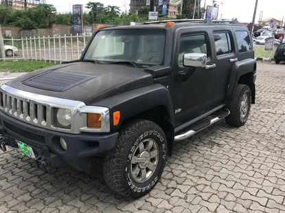 Nigeria Used Hummer H3 2007 Model Black