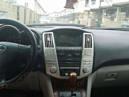 Nigeria use Lexus RX330 2008 model