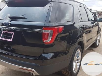 Neat Foreign used Ford Explorer 2017 Black