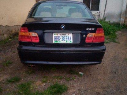 Nigeria Used BMW 325i 2005 Model Blue