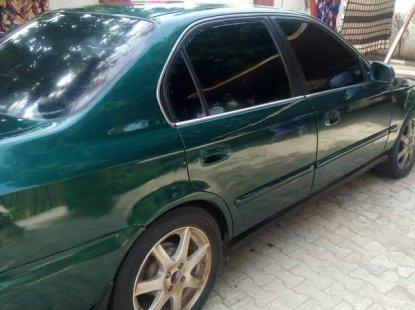 Nigeria Used Honda Civic 1998 Model Green