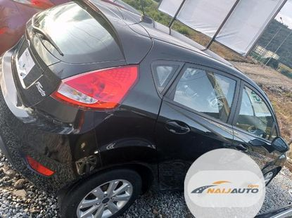 Neat Foreign used Ford Fiesta 2012 Black