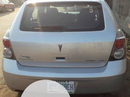 Nigeria Used Pontiac Vibe 2009 Model Silver