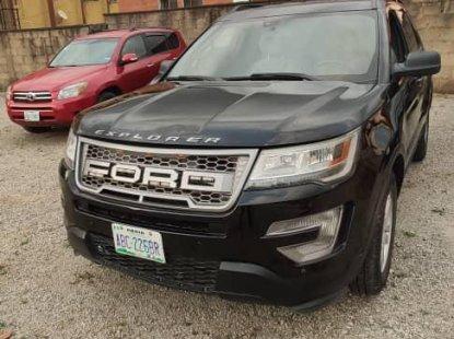 Nigeria Used Ford Explorer 2014 Model  Black