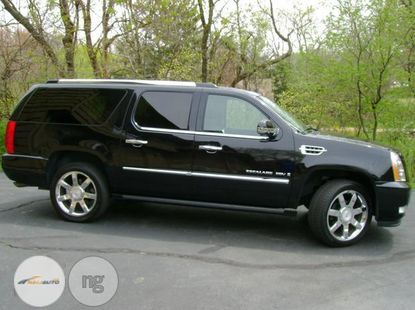Foreign Used Cadillac Escarlade 2008 Black