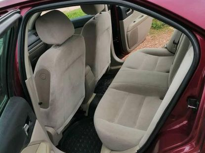 Nigeria Used Ford Fusion SE 2008 Model Red