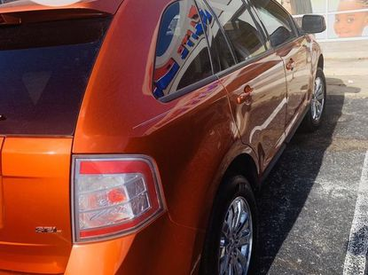 Foreign Used Ford Edge 2008 Model Orange