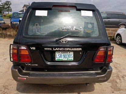 Toyota Land Cruiser Prado Nigeria Used 2002 Model Black