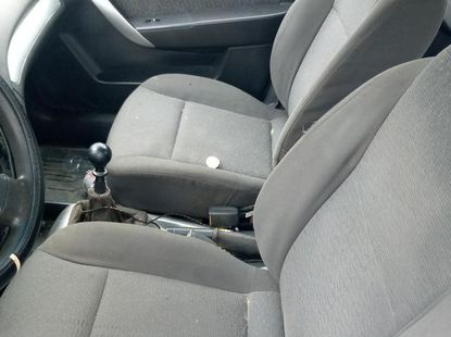 Foreign Used Chevrolet Aveo 2009 Model Silver