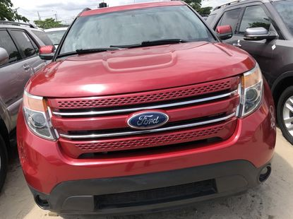 Ford Explorer 2013 Model Foreign Used Red for Sale