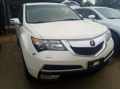 Acura MDX 2010 Model Foreign Used White for Sale